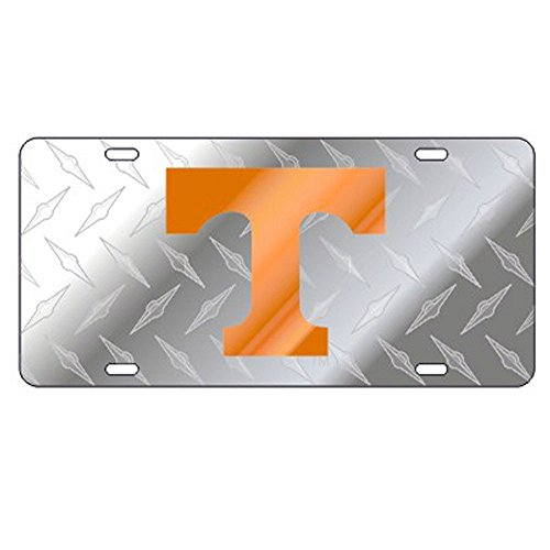 Tennessee Volunteers Diamond Plate Laser Cut License -