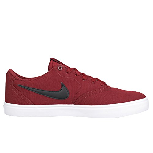 Homme Gris Dark Check Team Chaussures EU 40 Red Black de Skate White SB Nike HXqwYff