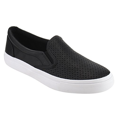 Soda Shoes Women's Tracer Slip On White Sole Shoes