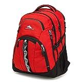 High Sierra Access II Laptop Backpack, Crimson/Black