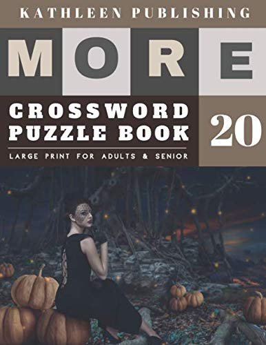 Awesome Halloween Trivia (Crosswords Large Print: Crosswords for teenagers | More 50 Easy Puzzles Large Print Crosswords to Keep you Entertained for Hours | halloween pumpkin design (crossword books)
