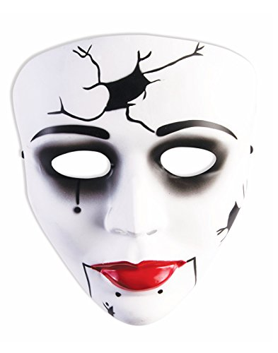 Forum Cracked Doll Adult Mask Adult One Size