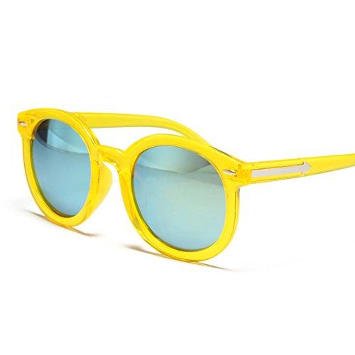 8 Korean 1 X9 Lunettes réfléchissantes Hipster Sunglasses Lunettes Couleur de des de Soleil Eyewear Soleil Lunettes AUzCqw6