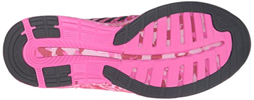 Asics Womens Fuzex Pr Running Scarpa Rosa Bagliore / Bianco / Rosa Nastro