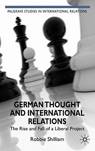 German Thought and International Relations: The Rise and Fall of a Liberal Project (Palgrave Studies in International Re