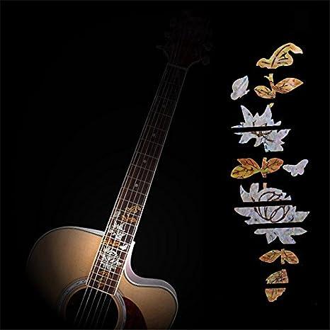 Acústica Guitarra eléctrica diapasón Personal marcador/adhesivos para guitarra trastes cuello nuevo: Amazon.es: Instrumentos musicales