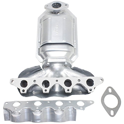 - Catalytic Converter compatible with Hyundai Accent 00-02 Front With Exhaust Manifold