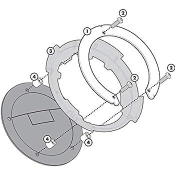 GIVI ZT480F flangia di fissaggio al serbatoio in nylon