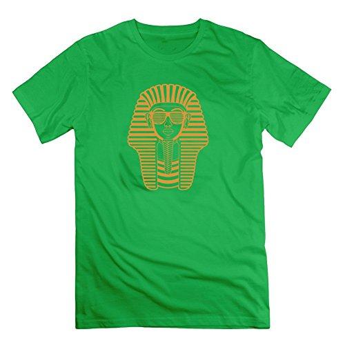 Jermaijohn Customized Men King Tut Egypt Pharaoh Sunglasses Short Sleeves - King Tut Egypt Pharaoh Sunglasses Print In - Sunglasses Obey