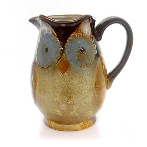 Whimsical Porcelain Owl Water/Tea -