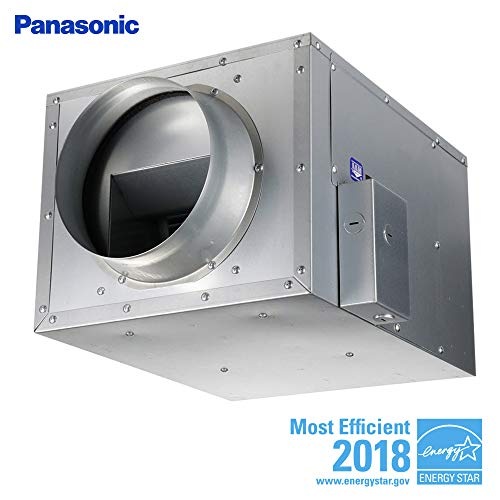 Panasonic Fv 40nlf1 Inline Exhaust Fan 440 Cfm Whisperline Ventilation For 8 Duct