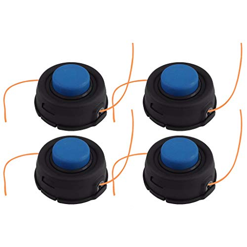 4Pcs For Husqvarna T35 Auto Feed Tap Advance Trimmer Head 10mm Dual -