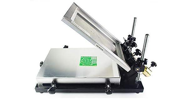 NEWSIHUI - Mesa de impresión Manual para serigrafía, tamaño 320 x ...