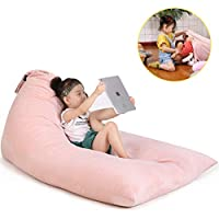 Stuffed Animal Bean Bag Chair for Kids and Adults