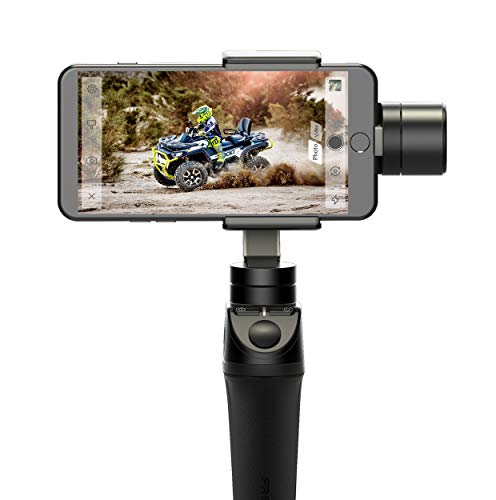 Freevision VILTA 3-Axis Handheld Stabilizer Gimbal for Phones & Actions Cameras, Black (VILTA-M)