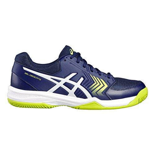 Asics Gel-Dedicate 5, Zapatillas de Gimnasia para Hombre Azul
