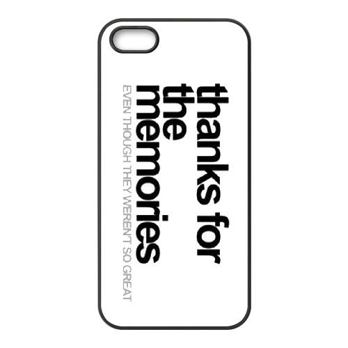 Fall Out Boy 007 coque iPhone 4 4S cellulaire cas coque de téléphone cas téléphone cellulaire noir couvercle EEEXLKNBC24999