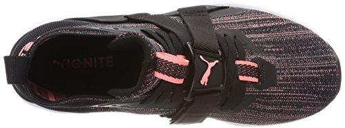 Zapatillas Black 2 Mujer Para Evoknit Cross Ignite Wn's Peach Negro puma Puma soft De asphalt Fluo xPIqp8n