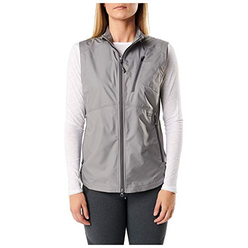 5.11 Tactical 65001082L Chaleco rompevientos Cascadia para mujer Lunar, X-Large