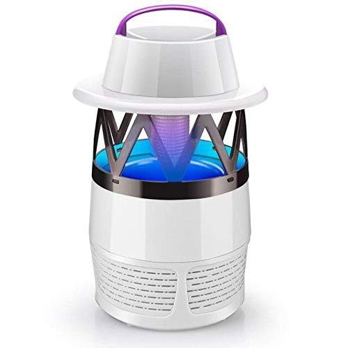 Mosquito Killer Lamp Electronic Bug Zapper Light No Radiation USB Power LED Mosquito Repellent for Indoor Outdoor White, Spain