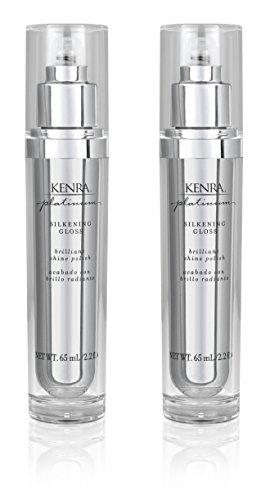 Kenra Platinum Silkening Gloss, 2.26-Fluid Ounce (2-Pack)