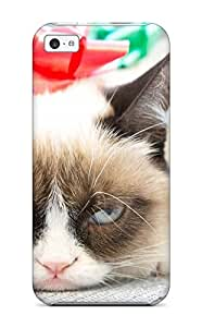 New Grumpy Cat Tardar Tpu Case Cover, Anti-scratch MpvnzPr2553MqOLk Phone Case For Iphone 5c