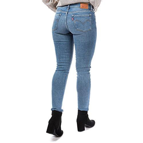 Indaco Skinny Percorrere Da Levi's Miglia Jeans Chiaro 711 qw6xCZf