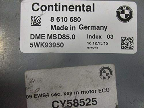 Amazon.com: Engine ECM Control Module 4.4L Twin Turbo Fits 09-12 BMW 750i 8 610 680 8610680: Automotive