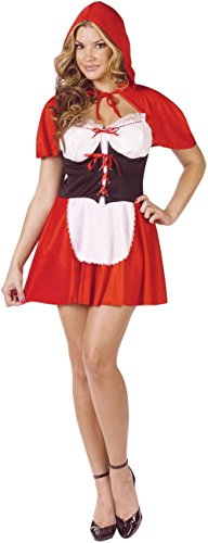 Red Hot Riding Hood Adult Costume - Small/Medium