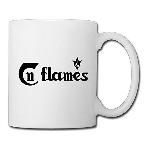 - Christina In Flames Logo Ceramic Coffee Mug Tea Cup White