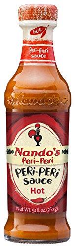 NANDO'S PERI-PERI Sauce, Hot, 9.1 Fluid Ounce (Best Piri Piri Sauce)