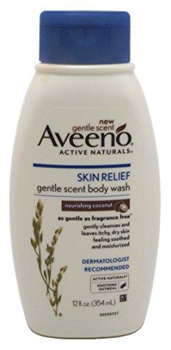 Aveeno Body Wash Skin Relief Nourishing Coconut 12 Ounce