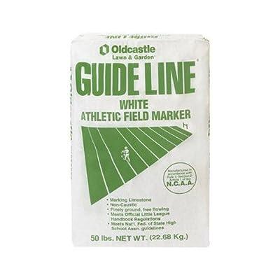 Oldcastle Guide Line 54051100 White Athletic Field Marker, 50-Pound : Soil And Soil Amendments : Garden & Outdoor [5Bkhe1907221]
