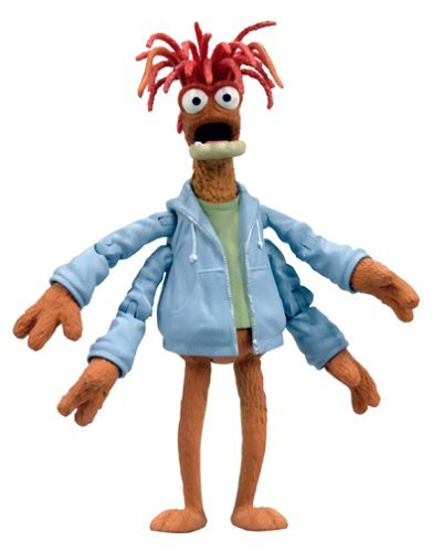 (Muppets Series 5 Action Figure Pepe the King Prawn by Muppet Night)