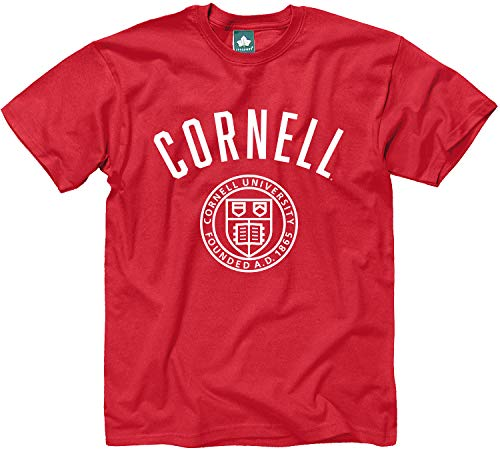 Ivysport Cornell University Short-Sleeve T-Shirt, Legacy, Red, ()