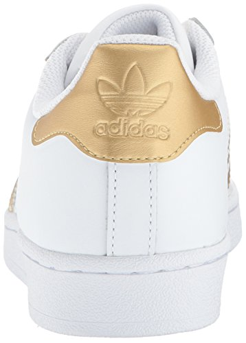 Blue Boys' Metallic White Trainers adidas Superstar Gold Originals xnAwqSE8R0