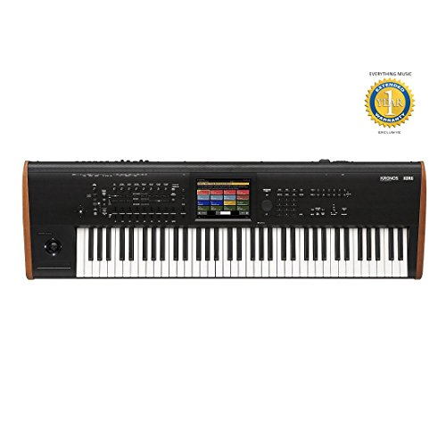 Korg Kronos 73 note Keyboard Workstation Synthesizer with RH3 Graded Hammer Action , Solid state Internal Drive , 8