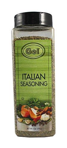 - GEL Brand Gourmet Italian Seasoning 5 oz Family Size Jar