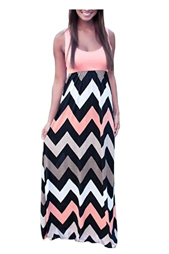 aifer-womens-striped-zig-zag-chevron-print-sleeveless-tank-top-beach-long-maxi-dressmediumpink