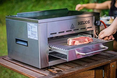 Aldi Gasgrill Oberhitze : Meateor 800 grad oberhitzegrill helios gasgrill hochleistungsgrill