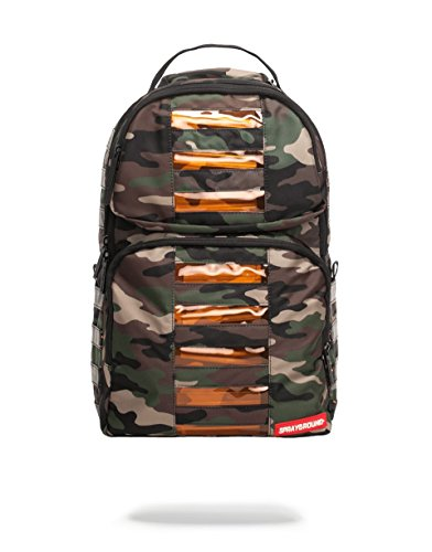 Sprayground Camo LED Bag to the Future Backpack by Sprayground