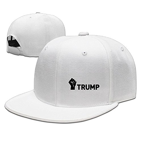 Karoda Proud Member Of The Basket Of Deplorables Flat Brim Baseball Caps Hip Hop Hat White (Customized Gift Baskets Nyc)