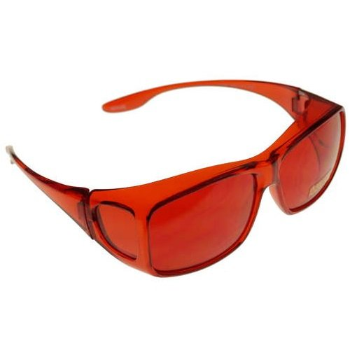 3983ac7c6c Amazon.com  Color Therapy Glasses Fits Over Prescription Glasses (Baker-Miller  Pink)  Health   Personal Care