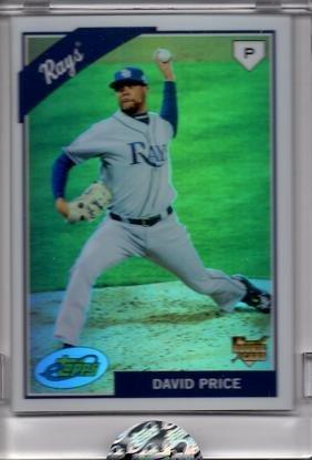 75ac36bd178 2009 eTopps (Topps) Baseball  42 David Price Rookie Card - Only 1 ...