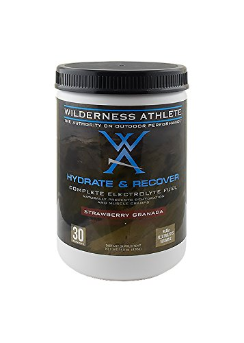 Wilderness Athlete Hydrate & Recover, Strawberry Granada, 14.8 Ounce