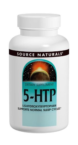 Source Naturals 5-HTP, 50mg, 120 Capsules (Pack of 2)
