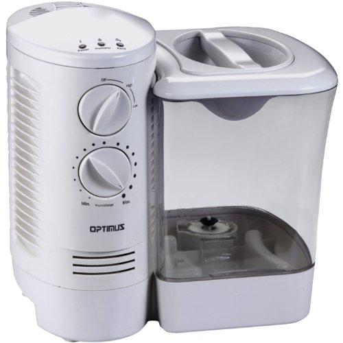 Optimus U-32000 2.5 Gallon Warm Mist Humidifier with Wicking Vapor System
