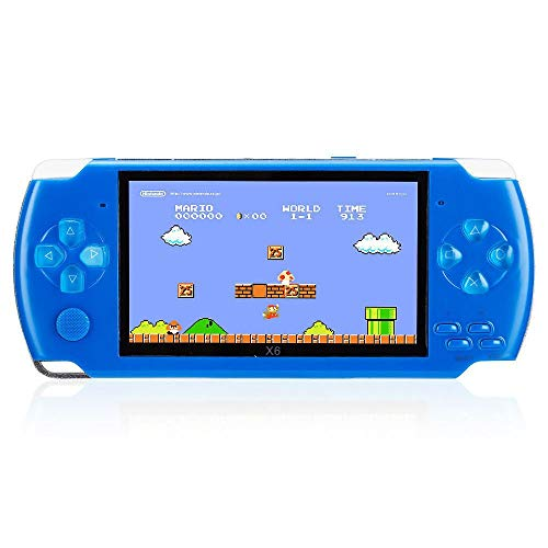 (8GB 4.3 Inch Handheld Game Console with 1000 Classic GBA Games, Support Video & Music Playing, Built-in 3M Camera)