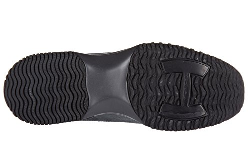 Hogan scarpe sneakers donna camoscio nuove interactive h strass alette borchie g