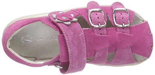 Richter Kinderschuhe Terrino 2101-731 - Botas de senderismo Bebé-Niños Pink (fuchsia/lollypop/sil  3501)